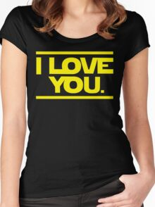 Star Wars Women's Fitted Scoop T-Shirt