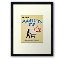 Homeless Dad - Arrested Development Framed Print