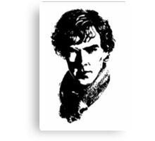 Sherlock Retro Style Canvas Print