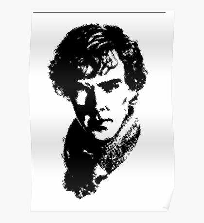Sherlock Retro Style Poster