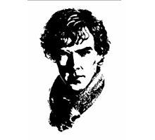 Sherlock Retro Style Photographic Print