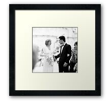 1987 - distraction Framed Print