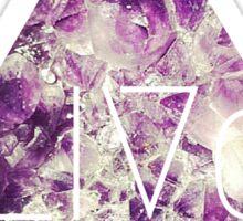 Weird Geo Crystal Psychadelic Grunge 90s Pastel Tumblr Print Sticker