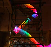 Staircase Rainbow by myebra