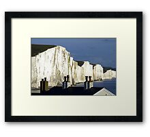 Rooftops & Clifftops Framed Print
