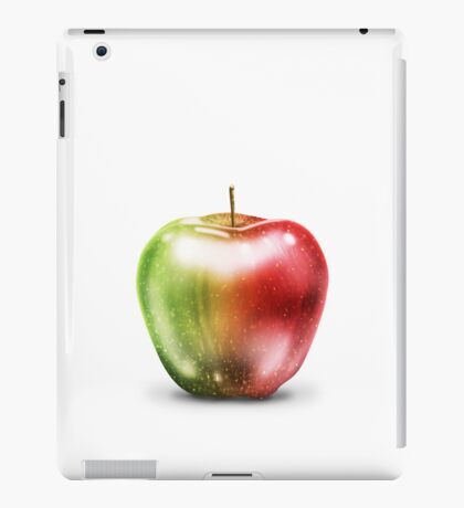 apple two tone iPad Case/Skin