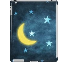 moon and stars iPad Case/Skin