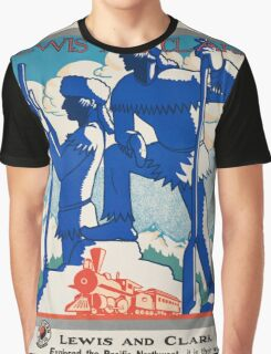 Vintage poster - Pacific northwest Graphic T-Shirt