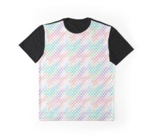 Rainbow Fish Scales Pattern Graphic T-Shirt