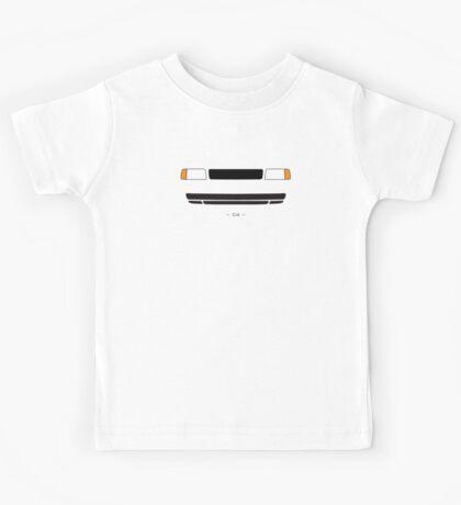 4C simple front end design Kids Tee