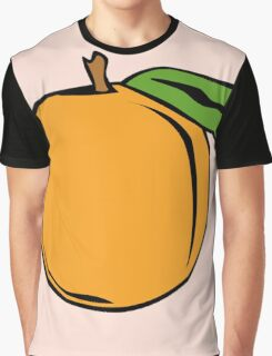 Peach Graphic T-Shirt