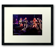 Live Band in Waterloo Place Derry, Halloween 2012 Framed Print