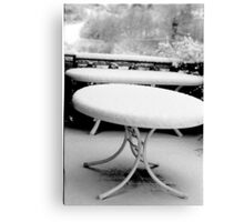 1987 - tuscany in winter Canvas Print
