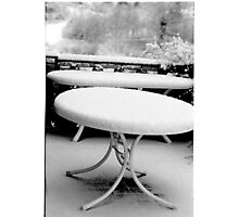 1987 - tuscany in winter Photographic Print
