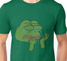 Crying Pepe the Frog Unisex T-Shirt