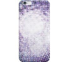 Abstract circle shape mosaic pattern iPhone Case/Skin