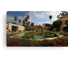 Balboa Park Botannical Building, San Diego Canvas Print