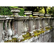 Weathered Barrier Photographic Print