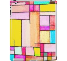 Abstract of city iPad Case/Skin