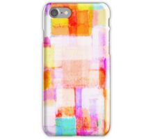abstract geometric colorful pattern iPhone Case/Skin