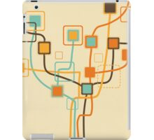 tree pattern and weaving line iPad Case/Skin