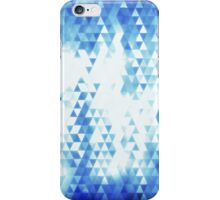 Seamless triangle mosaic iPhone Case/Skin