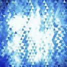 Seamless triangle mosaic by naphotos