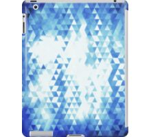 Seamless triangle mosaic iPad Case/Skin