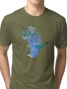 Cloud Strife Meteor (Black) Tri-blend T-Shirt