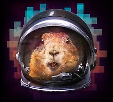Prairie Dog In Space by PolySciGuy