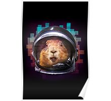 Prairie Dog In Space Poster
