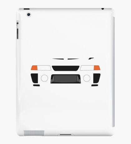Evo 5 simple front end design iPad Case/Skin