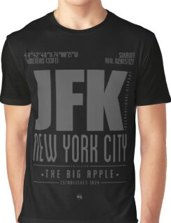 JFK - New York City Graphic T-Shirt