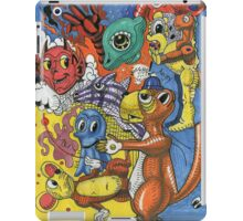 Cartoon Menagerie iPad Case/Skin
