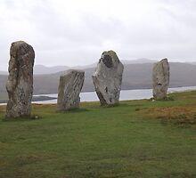 Callanish Stones by gemmaeleanor