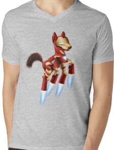 Iron Pony Mens V-Neck T-Shirt