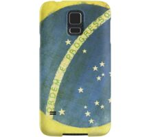 Brazil flag Samsung Galaxy Case/Skin