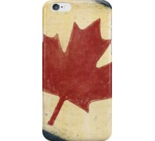 Canada flag iPhone Case/Skin