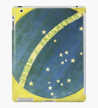 Brazil flag iPad Case/Skin