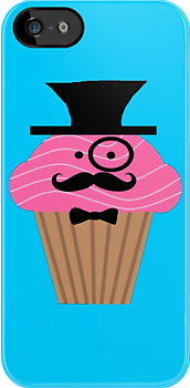Gentleman Cupcake by PirateGiraffe