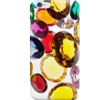 colorful gems iPhone Case/Skin