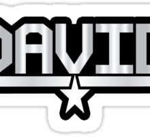 David callsign Sticker