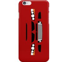 Evo 8 simple front end design iPhone Case/Skin
