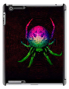 My nightmarish technicolour dreamspider by retepk
