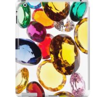 colorful gems iPad Case/Skin