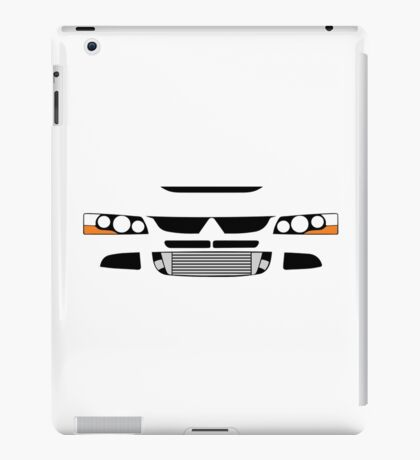 Evo 8 simple front end design iPad Case/Skin