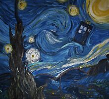 A Starry Night In The Tardis by Jessica Cushen