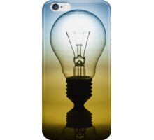 light bulb iPhone Case/Skin