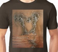Troubled Heart (Image and Poem) Unisex T-Shirt