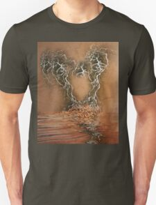 Troubled Heart (Image and Poem) T-Shirt